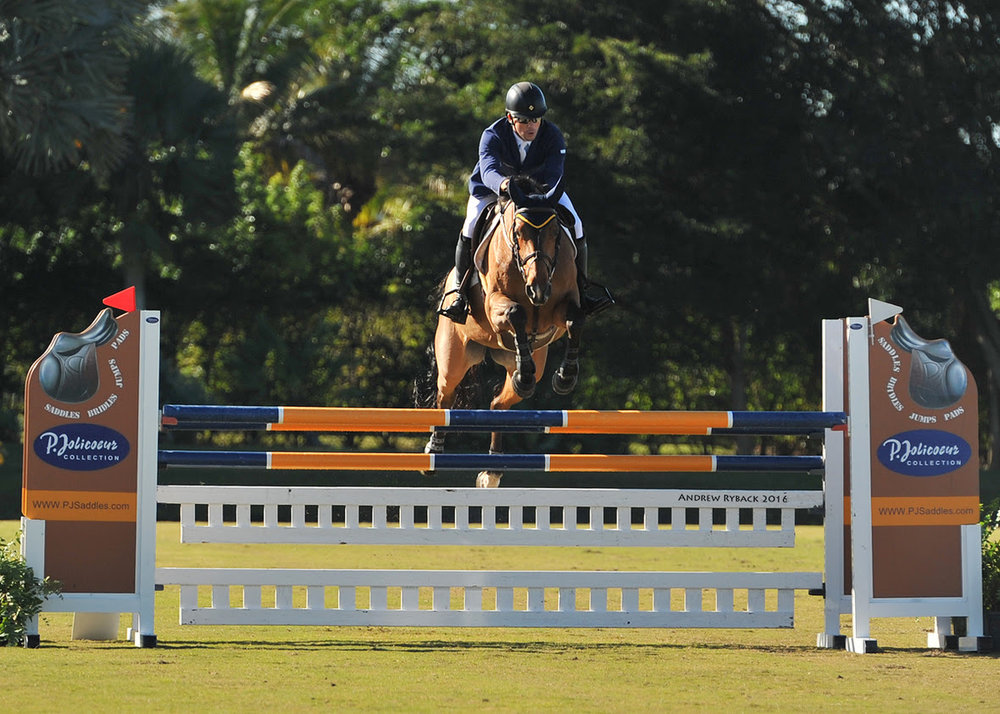 Connor Swail and Fortis Fortuna on course during Week 6's Grand Prix. Photo courtesy of Andrew Ryback Photography