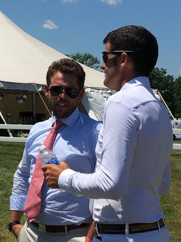Nick Granat with Paul O'Shea. Photo courtesy of Dobbin Group.