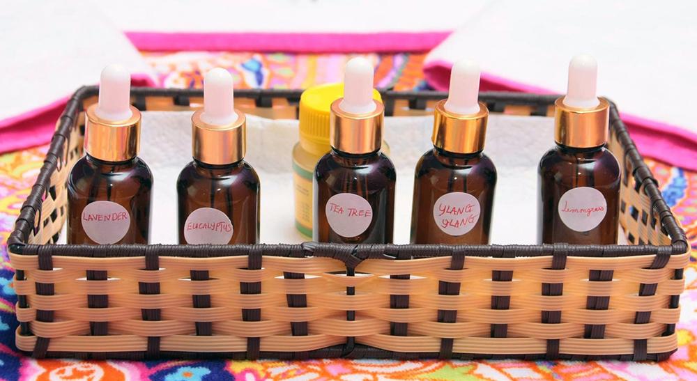 Massage oils and balms