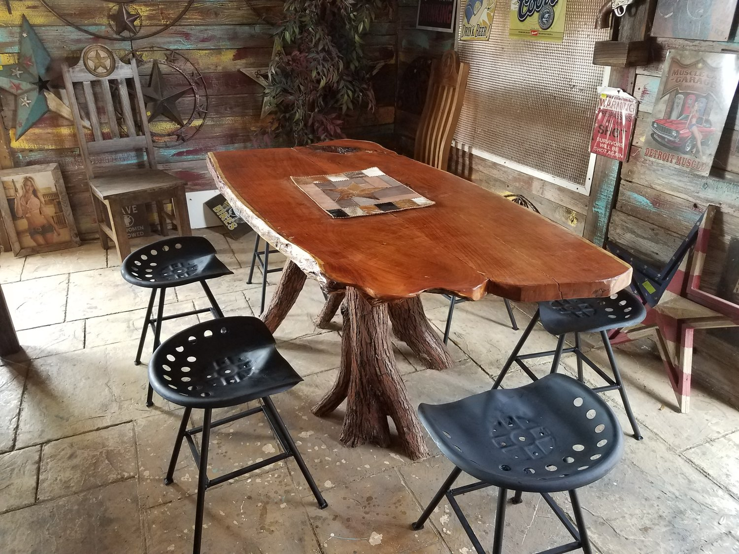 Custom Mesquite Dining Table Frontier Rustic Store