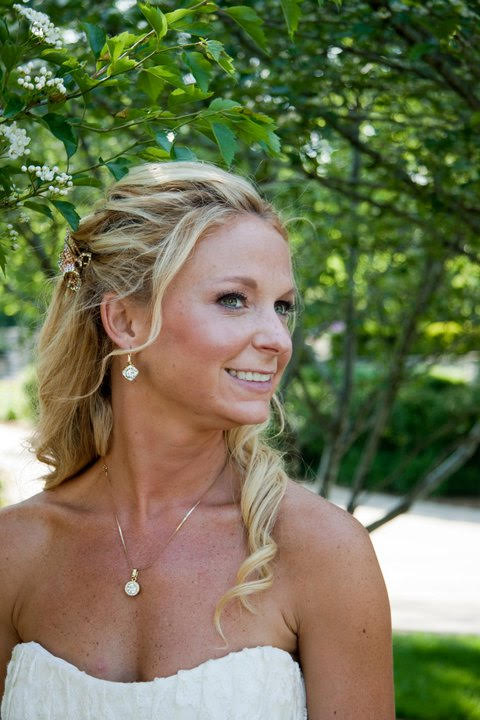 "Jeanne H.  ""Jackie did my make up and my wedding parties makeup and I absolutely loved her work. She made me feel so relaxed and comfortable. The products and color combinations highlighted my skin and eye colors and I still use some of the products today. She was truly a makeup artist and a professional ."