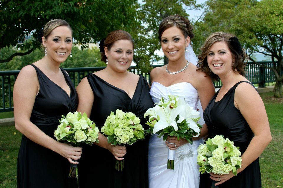 "Jessica S.  ""Jackie is amazing!! She made me and all my bridesmaids feel like a princess. She was fun yet professional. She listened to what everyone wanted and gave them exactly that. And our makeup lasted the whole day and night! We loved that she came right to us. It made my day so much more relaxing! I would recommend her and use her again!"""