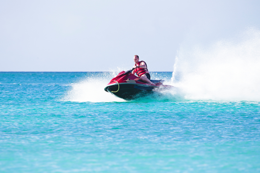 Cut through the turquoise waves in the turks and caicos on your own jetski!