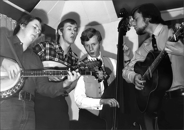 Bluegrass Band in 1967