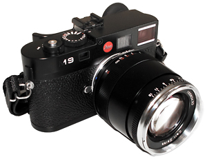 M9-with-Zeiss-85mm-ZM-Sonnar