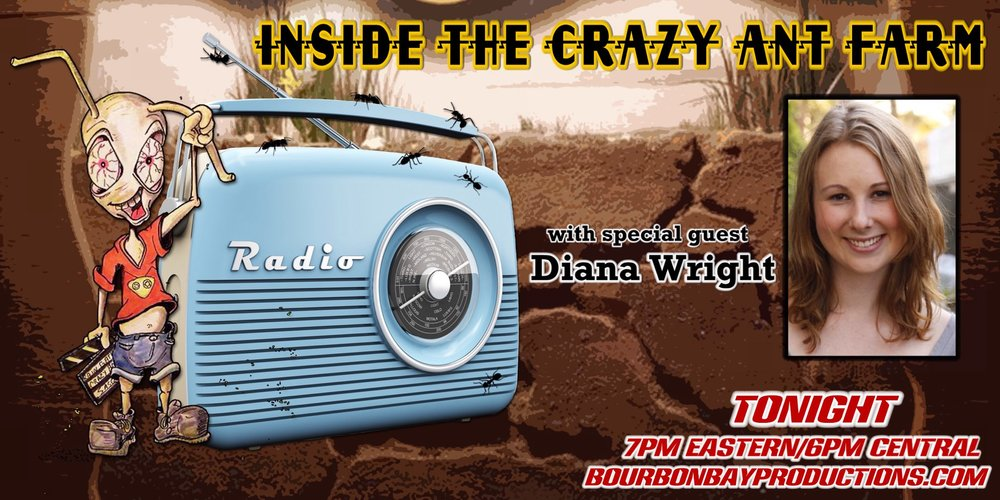 I got to promote my panel on 'Motherhood in the Industry' with the great guys and gals of Inside the Crazy Art Farm. I did the entire interview while driving around Los Angeles, just like a true Angeleno.  Click here  to listen.