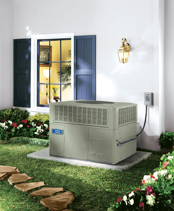Outdoor AC Unit - American Standard Silver 14