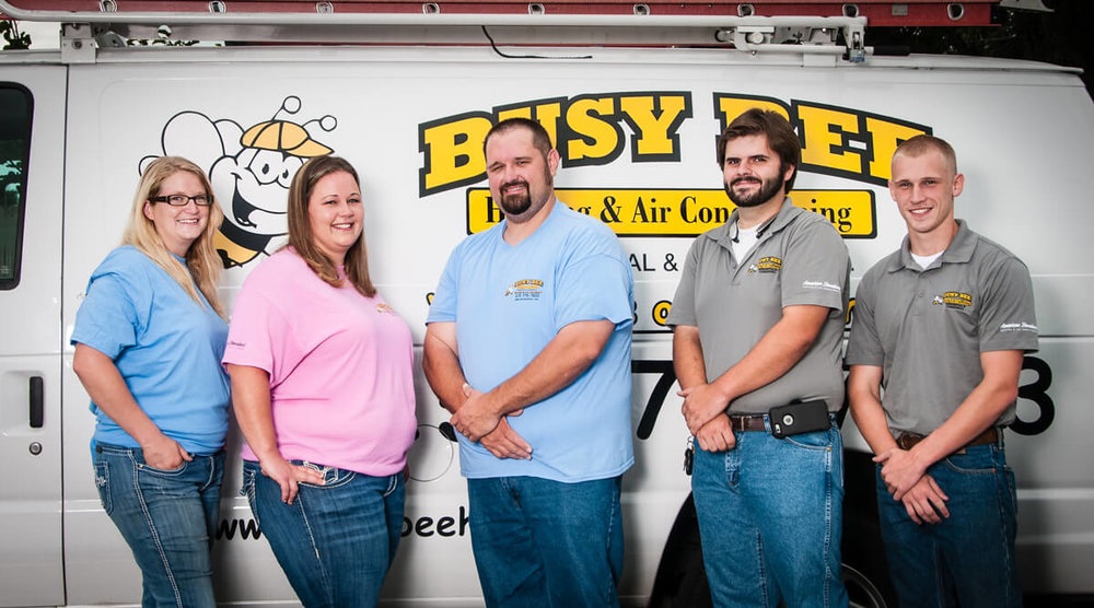 Meet the Busy Bee HVAC Team