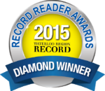Record Reader Awards Diamond Winner 2015