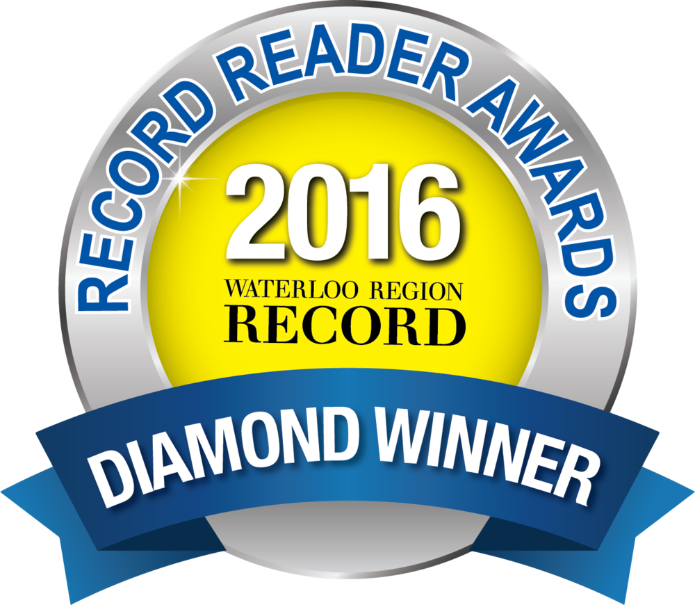 Record Reader Awards Diamond Winner Badge 2016
