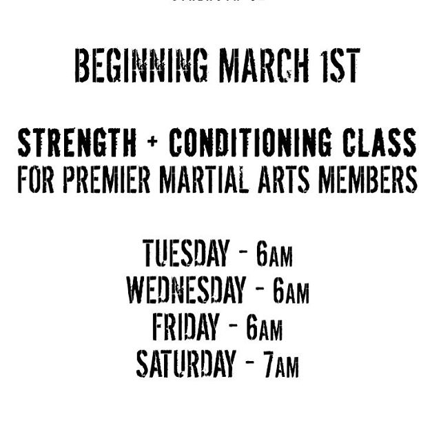 Six days until our morning strength and conditioning classes begin for @kirkspma members #phillyfit #phillyfitness