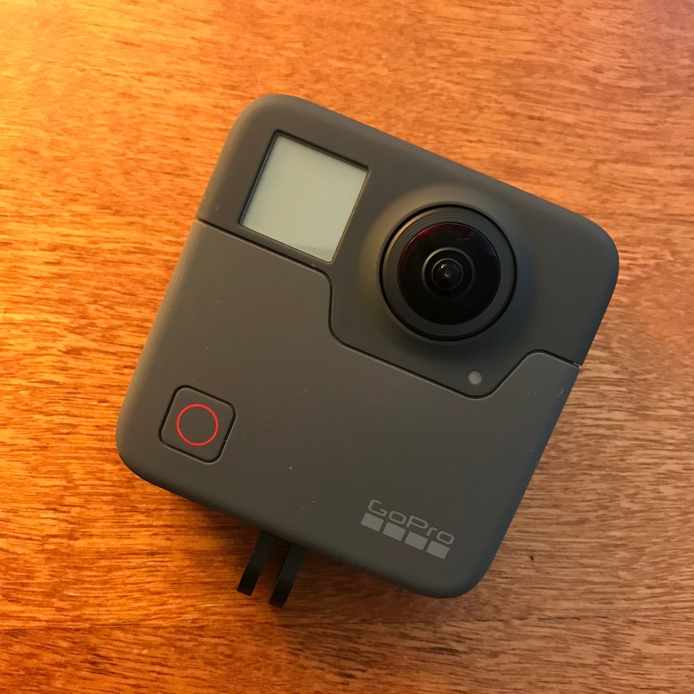GoPro Fusion (360 Camera)