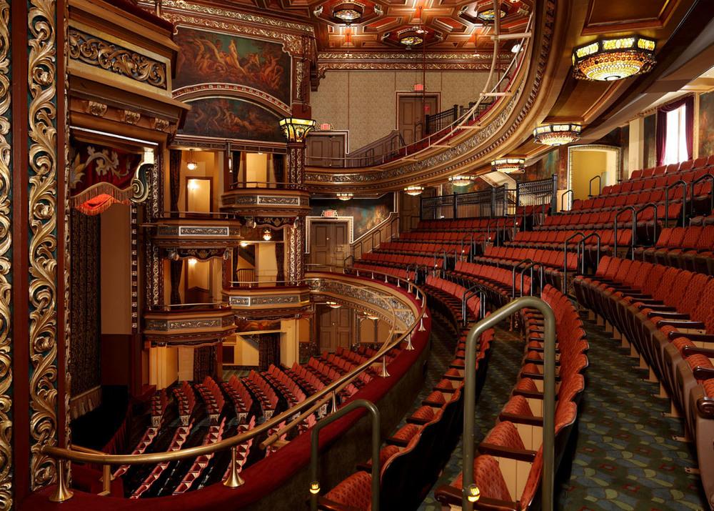 Belasco Theater, Built in 1907