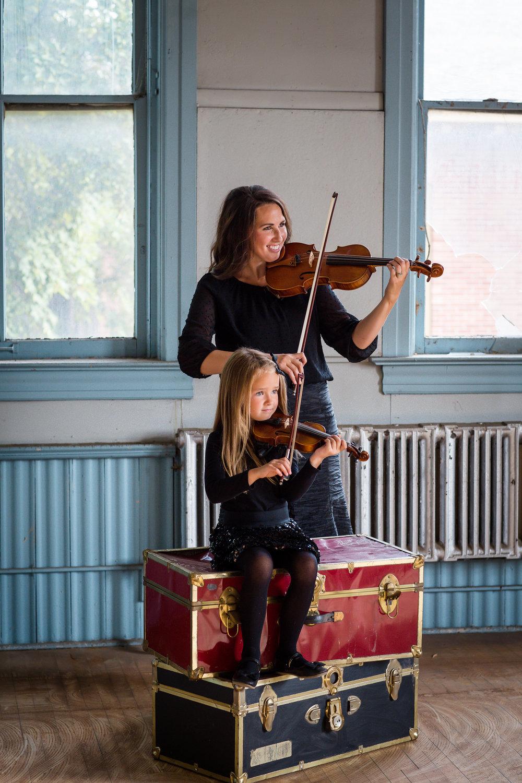 Kristi Jenkins & Daughter, Tympangos Symphony