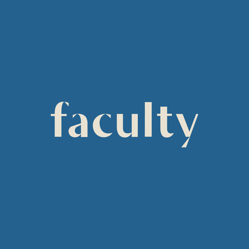 Faculty brand identity by Shoppe Theory.