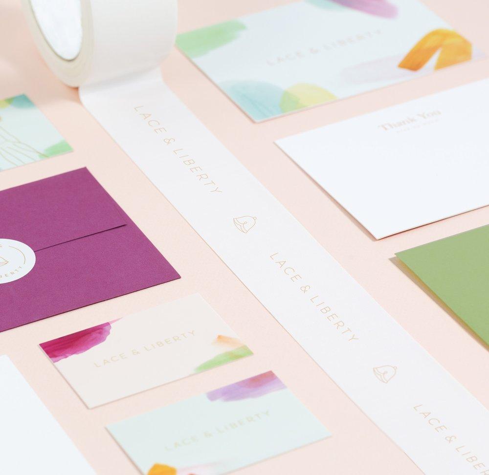 Lace & Liberty - Branding, Art Direction, Web Design