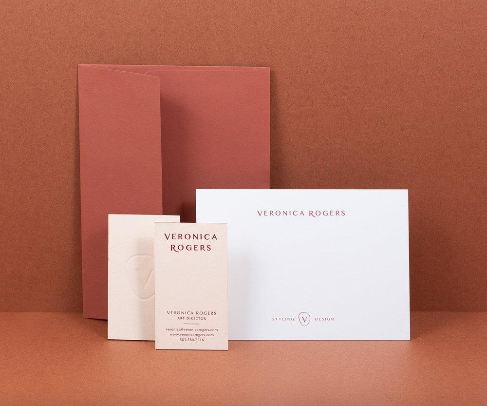 Veronica Rogers - Branding, Print Design, Web Design