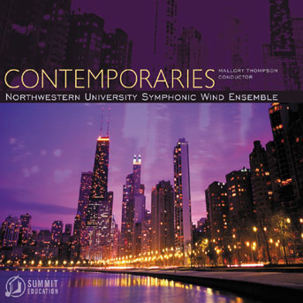 Northwestern University Wind Ensemble - Contemporaries (2004)