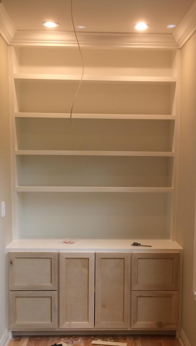 Cabinet & shelves