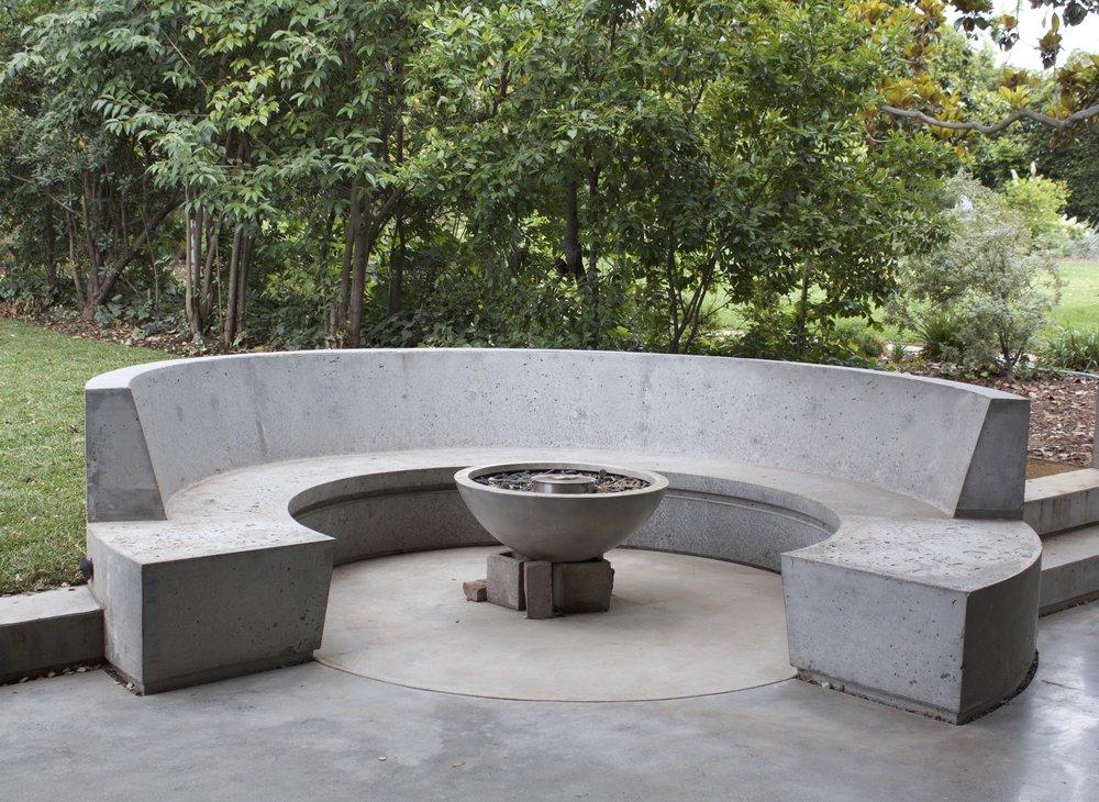 Concrete Banquette