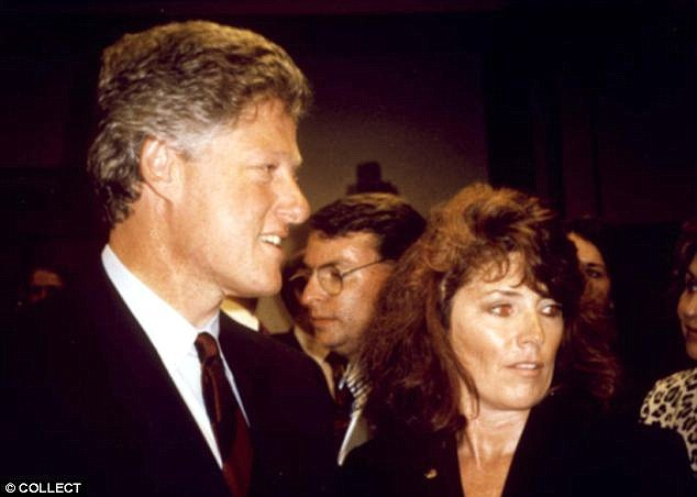 Bill with Kathleen Willey