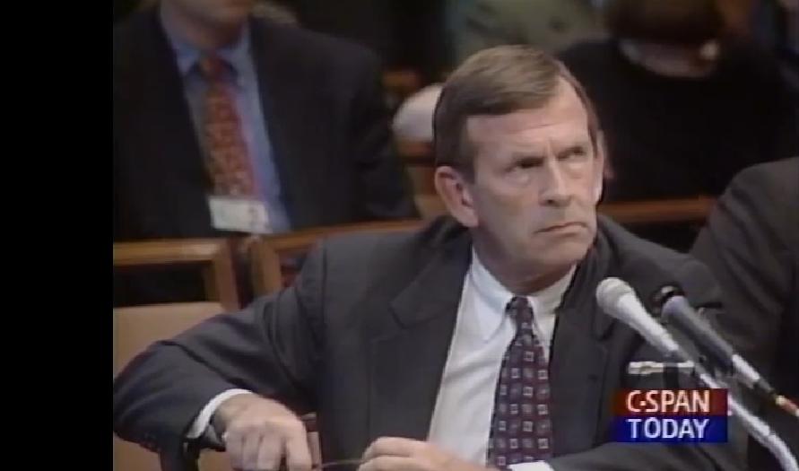 Knowlton's interrogator - FBI Agent Larry Monroe