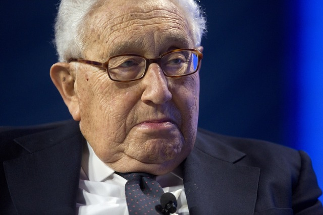 """Kissinger: Putin is not Stalin"" according to a Huffington Post headline."