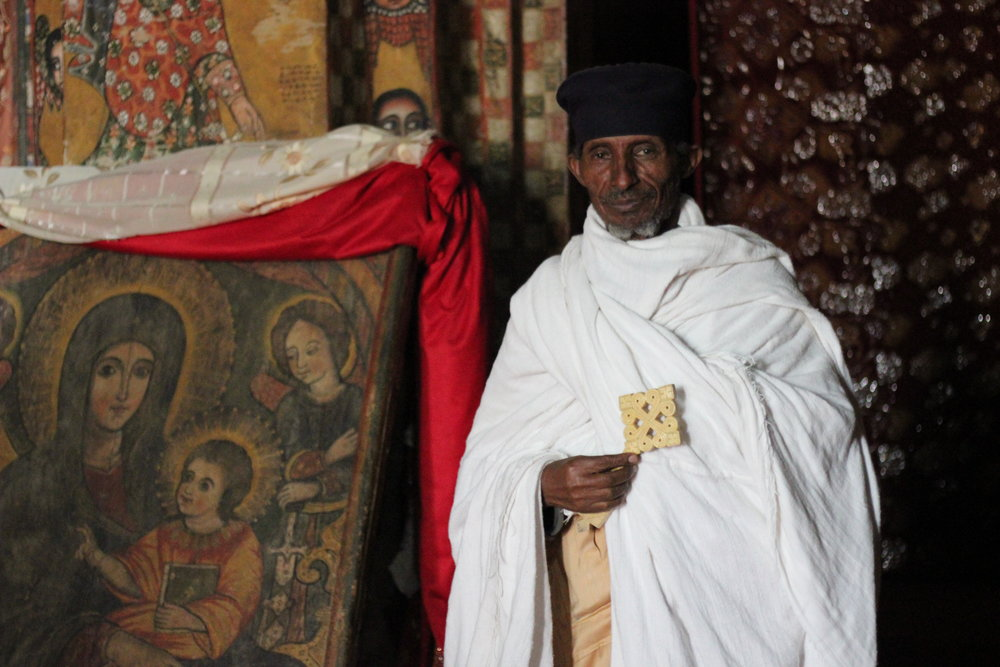 Some of the world's oldest monasteries are in Ethiopia.