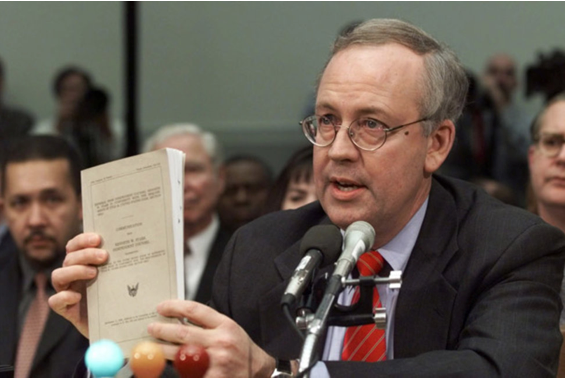 "Ken Starr, author of the ""Starr Report,"" became famous for investigating Clinton and Lewinsky rather than Foster's death."