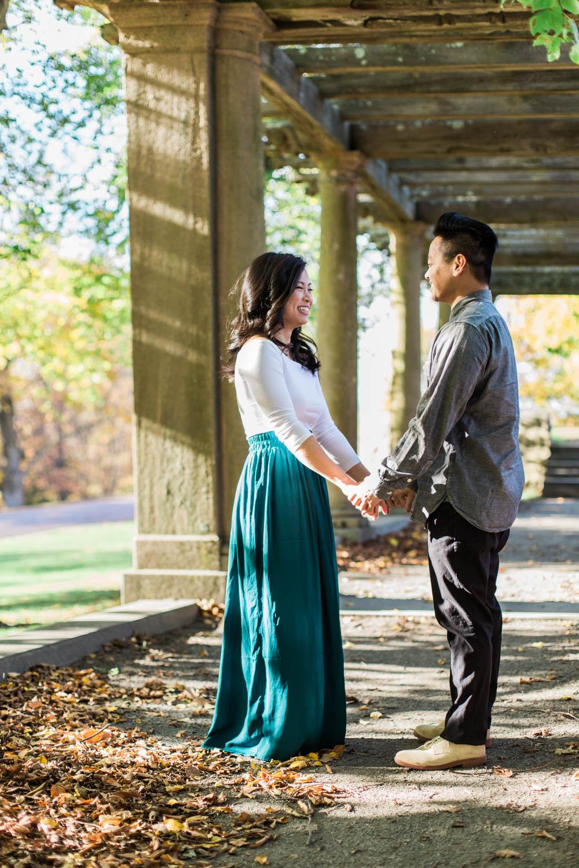 larz-anderson-park-boston-engagement-session