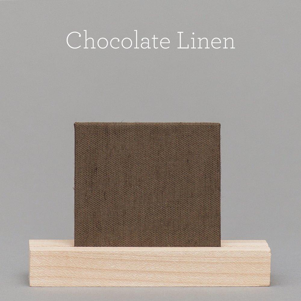 chocolate-linen