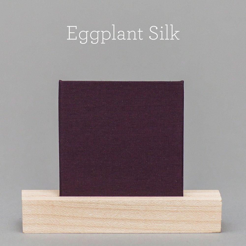 eggplant-silk