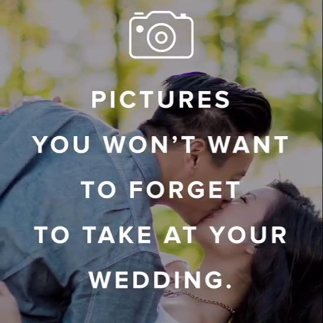 When @weddingwire shares a photo of yours, it's a fantastic day!