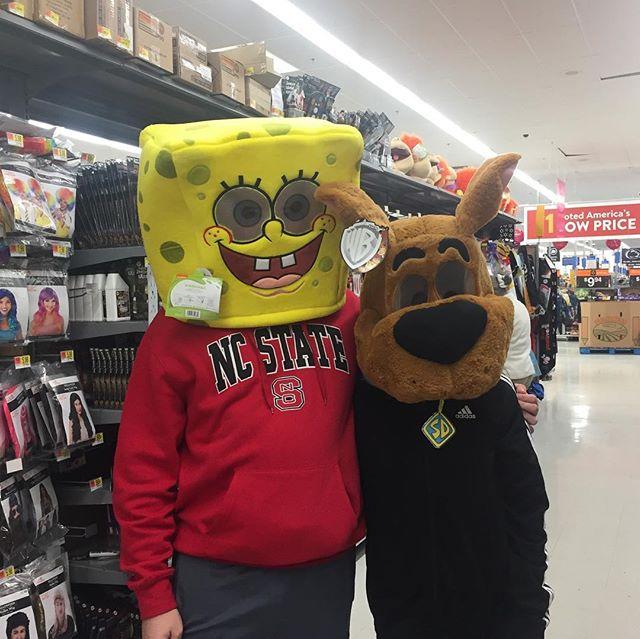 Matt & Rebecca getting in the Halloween spirit!