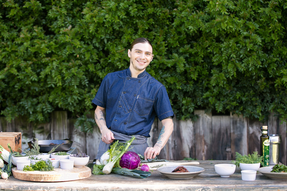 Chef Charles Imbelli, Harvest in Laguna Beach