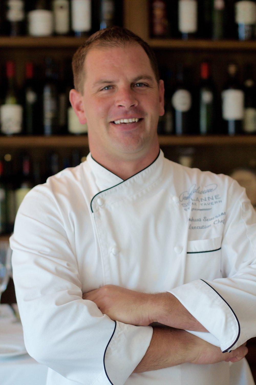 Executive Chef Joshua Severson. Photo courtesy of Selanne Steak Tavern