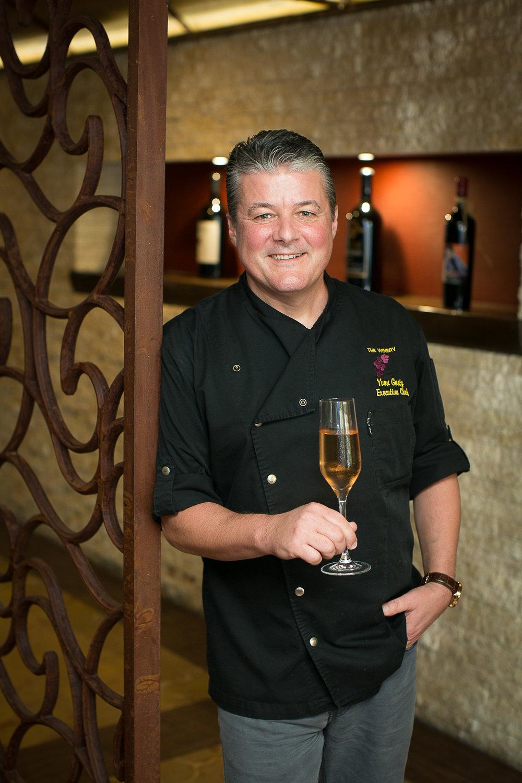 Chef Yvon Goetz. Photo by Tony Florez