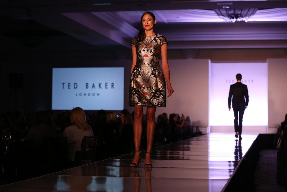 Ted Baker model
