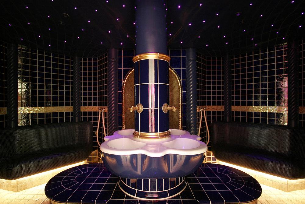 The Osman steam bath at the elegant Richmond Nua Wellness Spa