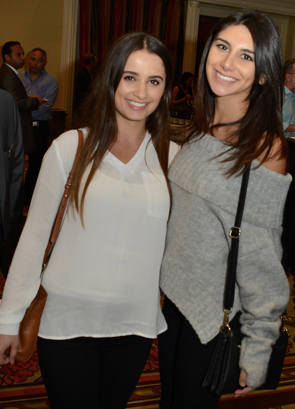Michelle Dimov and Sahar Amini