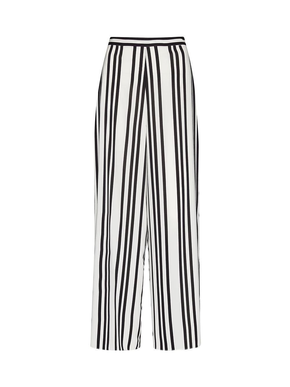 Alice + Olivia Sherice Darted High Waisted Pants,$330, at AliceandOlivia.com