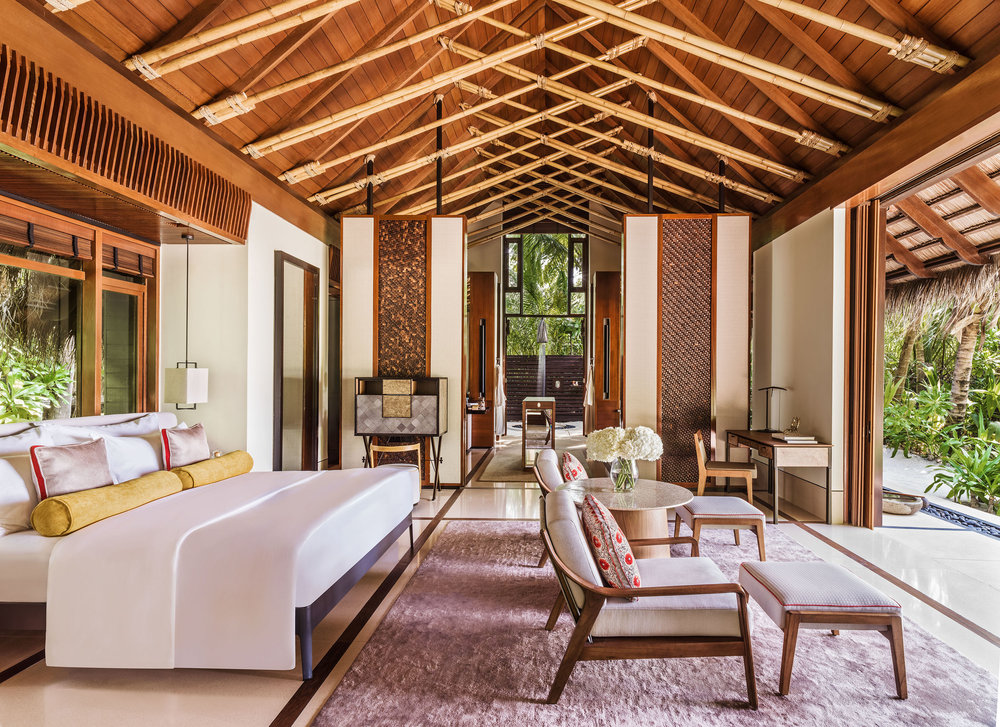 One&Only Reethi Rah Beach Villa with pool