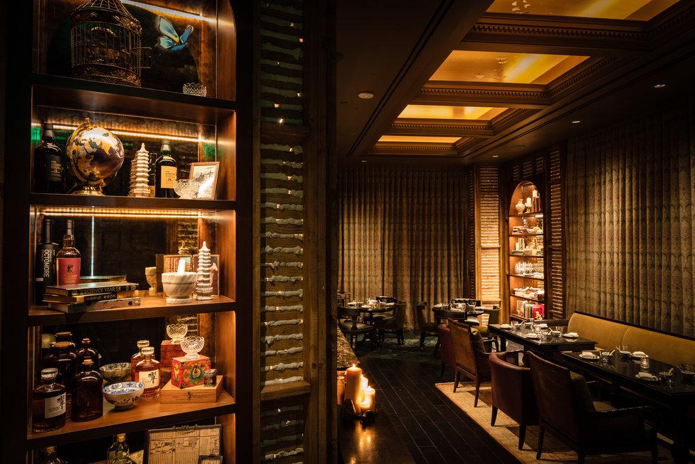 LSXO's dining room. Photo Simon Nicholls