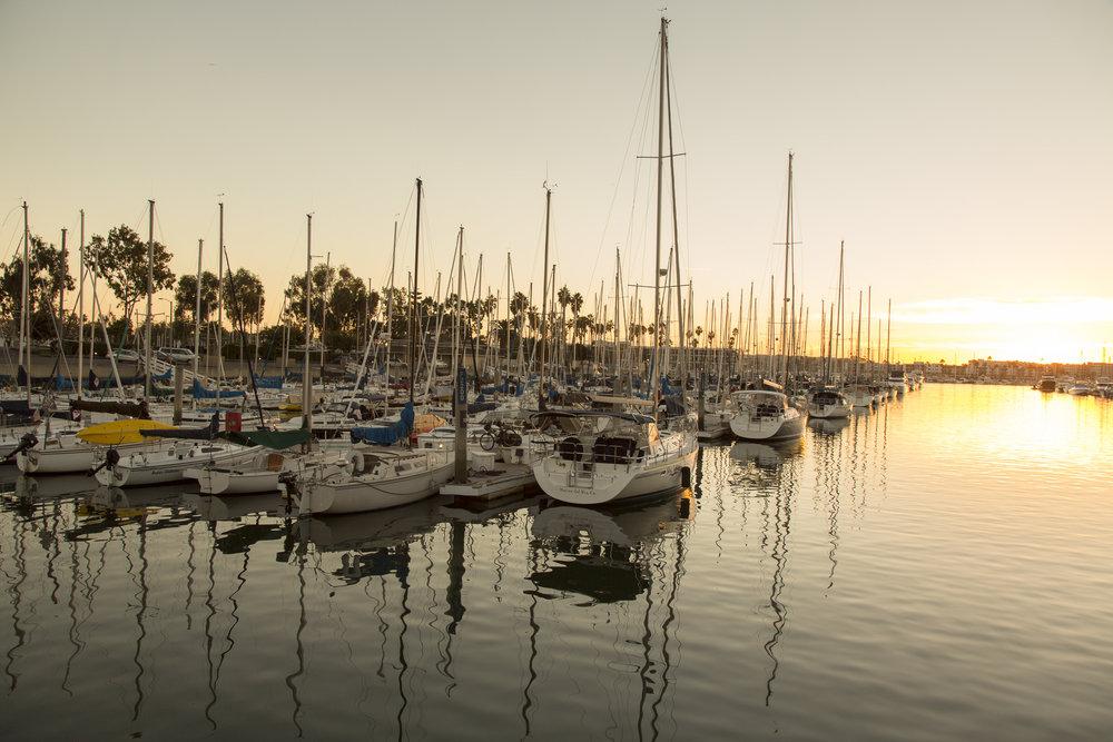 Marina sunset. Photo courtesy of Courtway Can