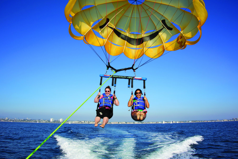 Parasailing for the outdoor enthusiast. Photo courtesy of Courtway Can