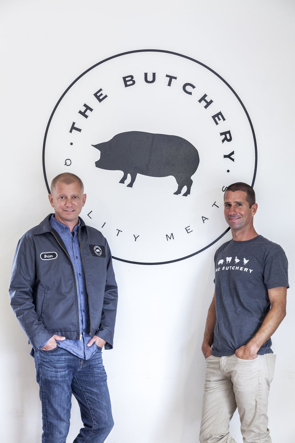 Brian Smith (L) and Robert Hagopian (R), owners of The Butchery. Photo courtesy of The Butchery