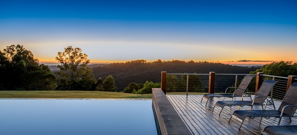 Gwinganna sunrise pool. Photo courtesy of Gwinganna Lifestyle Retreat