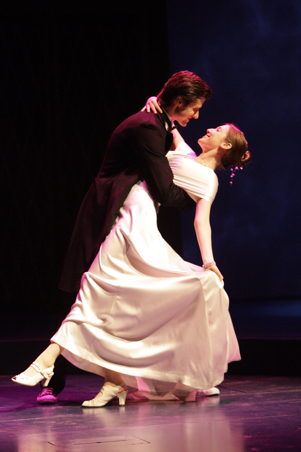 Alex Knox and Carmela Corbett in South Coast Repertory's 2012 production of Eurydice by Sarah Ruhl. Photo courtesy of Henry DiRocco/SCR