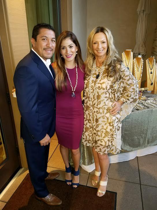 Luis & Rocio Padilla, Julie Miles