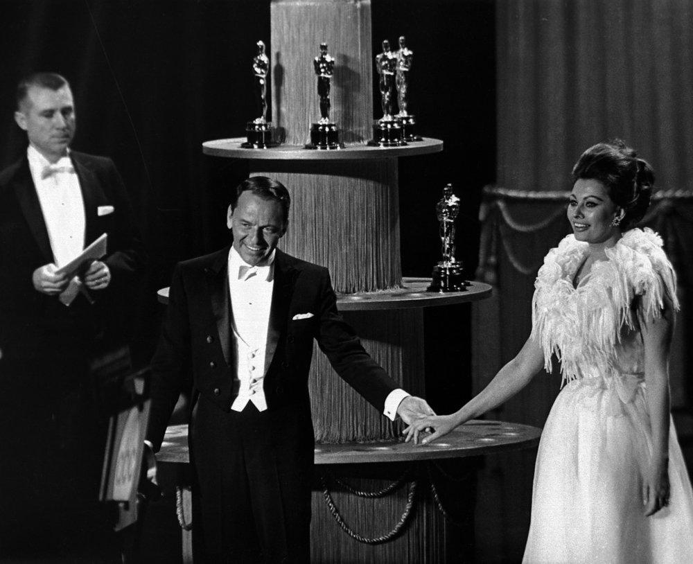Frank Sinatra and Sophia Loren